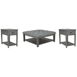 Ashley - Coffee Table With 2 End Tables