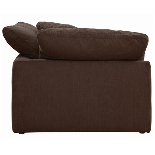 Cloud Puff Slipcovered Arm Chair Modular Corner Sofa Sectional