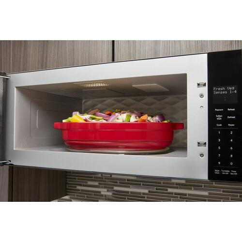 1000-Watt Low Profile Microwave Hood Combination with PrintShield™ Finish - Black Stainless Steel with PrintShield™ Finish