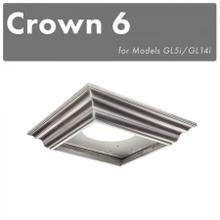 View Product - ZLINE Crown Molding Profile 6 for Island Hoods (CM6-GL5i)