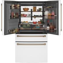 GE Cafe ENERGY STAR® 27.8 Cu. Ft. Smart 4-Door French-Door Refrigerator