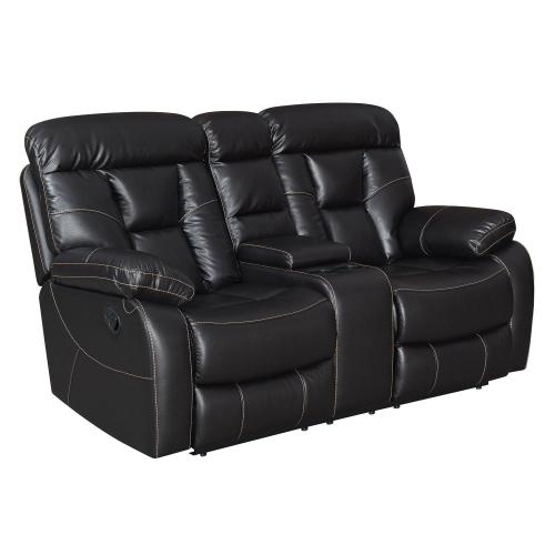 Squire Reclining Console Loveseat