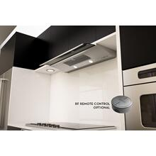 "30"" Genova Under-Cabinet Hood with Smoke Gray Sliding Glass"