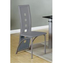 Tall Counter Height Chair, Grey