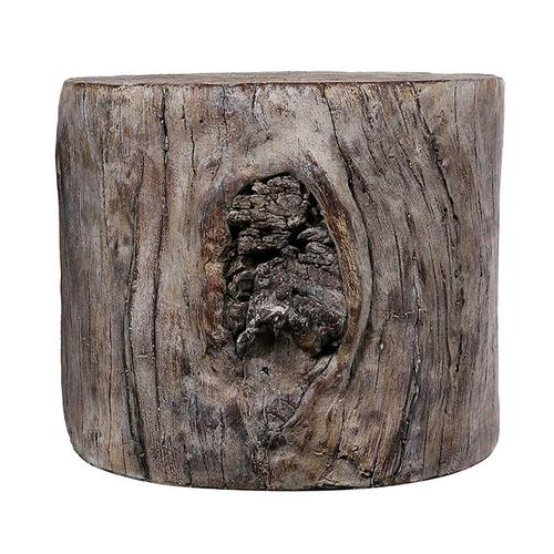 Tree Stump Cement Stool