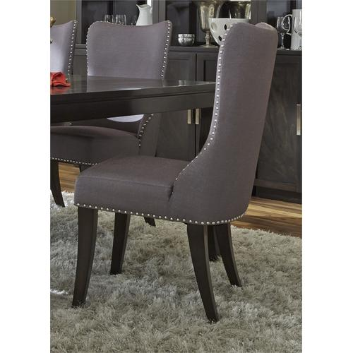 Liberty Furniture Industries - Upholstered Side Chair -Grey (RTA)