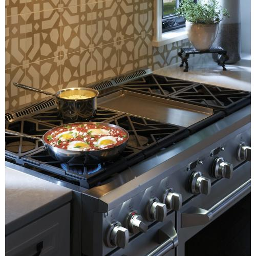 """Monogram - Monogram 48"""" All Gas Professional Range with 6 Burners and Griddle (Natural Gas)"""