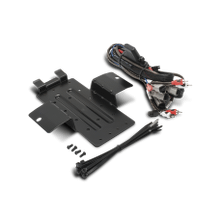 Amp kit and mounting plate for select YXZ® models