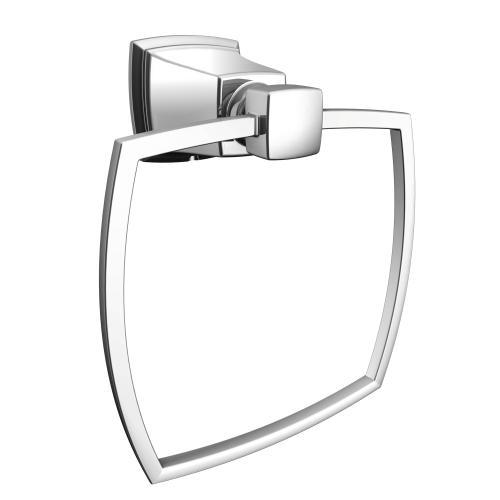 Boardwalk Chrome towel ring