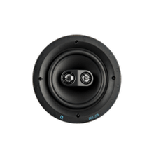 """See Details - DT Custom Install Series Round 6.5"""" Single Stereo and Surround In-Ceiling Speaker"""