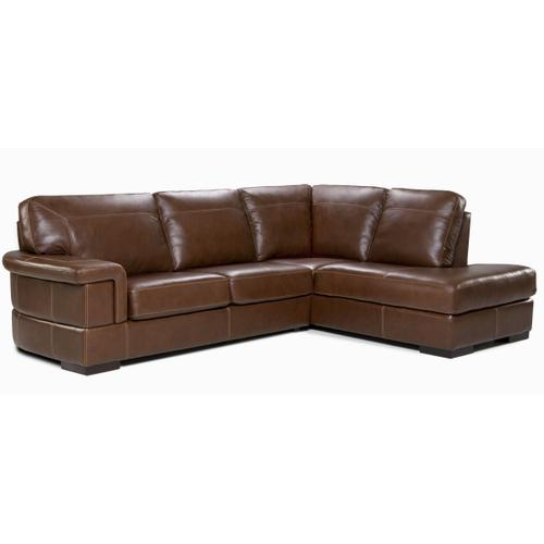Rio Sectional (096-024; Wood legs - Tea T37)