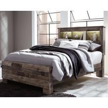 B200-65  Derekson Full Panel Bookcase Bed - HEADBOARD ONLY