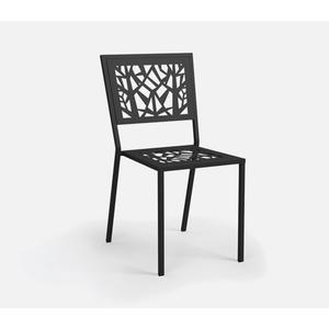 Armless Cafe Chair (Stackable) - Padded Seat