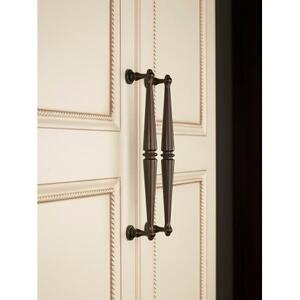 Top Knobs - Edwardian Pull 3 3/4 Inch (c-c) Polished Chrome
