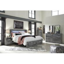 View Product - Queen Panel Bed With 4 Storage Drawers With Dresser