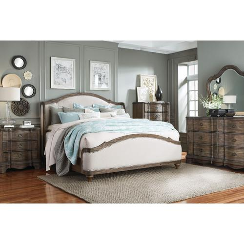 Parliment Nightstand, Distressed Brown