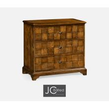 View Product - Country Walnut Small Chest of Drawers