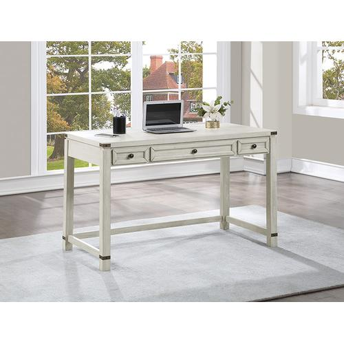 Office Star - Baton Rouge Home Office Writing Desk In Champagne Oak Finish