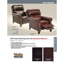 Reclining Chair w/Extended Ottoman