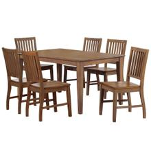 Product Image - Rectangular Table Dining Set w/Chairs - Amish (7 Piece)