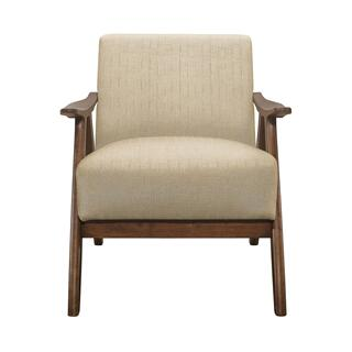 Damala Beige Accent Chair