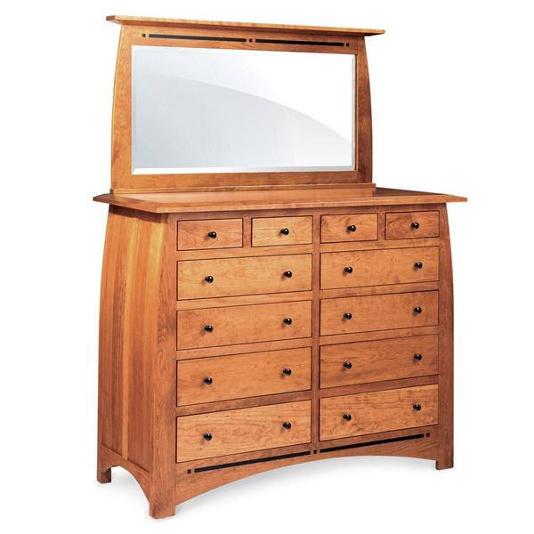 """See Details - Aspen 12-Drawer Bureau with Inlay, 60""""w x 24""""d x 49""""h"""