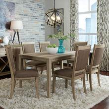 See Details - Opt 7 Piece Rectangular Table Set