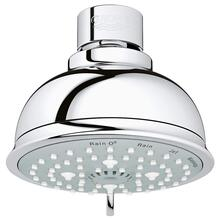 "Tempesta Rustic 100 Shower Head, 4"" - 4 Sprays, 2.0 Gpm"
