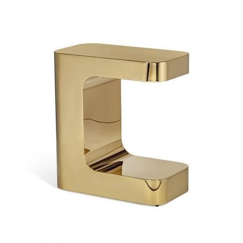 Dorset Rectangular Hugging Table - Brass