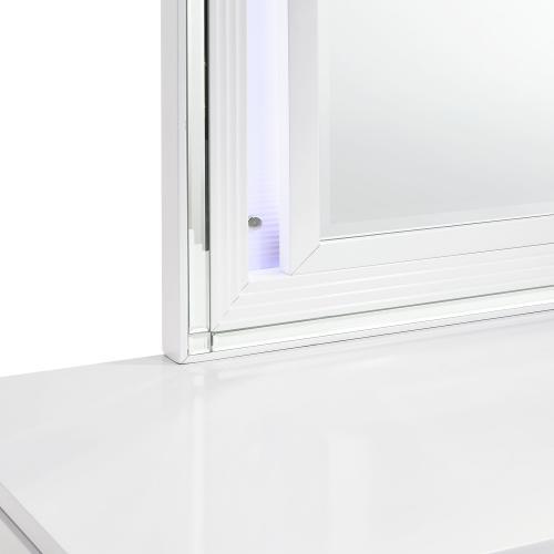 Product Image - Twenty Nine Youth Dresser & Mirror Set in White