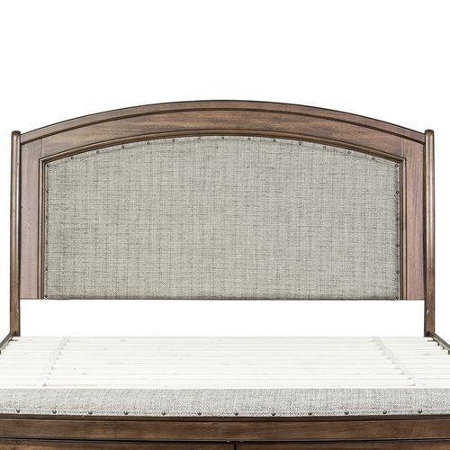 Liberty Furniture Industries - King Upholstered Headboard