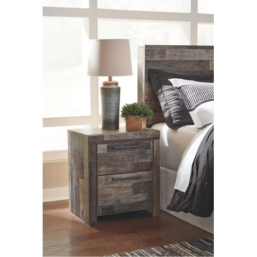 Derekson Power Nightstand