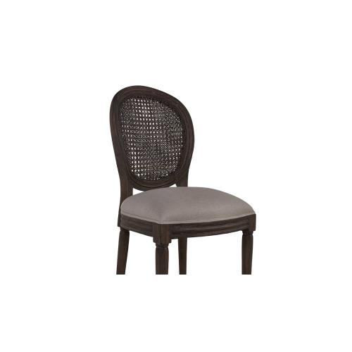 Tulip Rattan Back Dining Chair w/o Fluted Leg