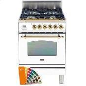 24 Inch Custom RAL Color Liquid Propane Freestanding Range