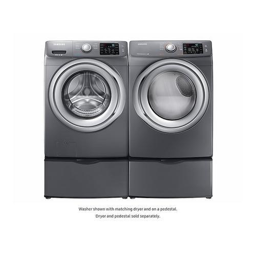 Samsung - WF5200 4.2 cu. ft. Front Load Washer
