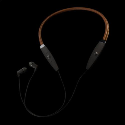 R5 Neckband Headphones - Brown