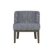 Isla Chair,Accent-Navy 1/Ctn