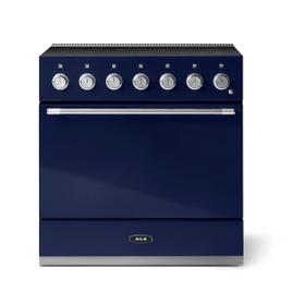 """Aga Mercury 36"""" Induction Model, Blueberry"""
