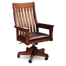 See Details - M Ryan Arm Desk Chair, Fabric Cushion Seat
