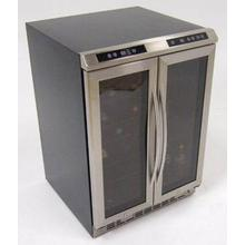 See Details - Side-by-Side Dual Zone Wine Chiller