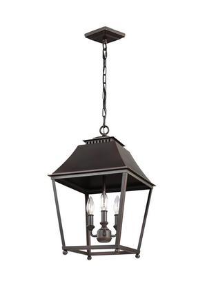Galloway Medium Lantern Dark Antique Copper / Antique Copper Product Image