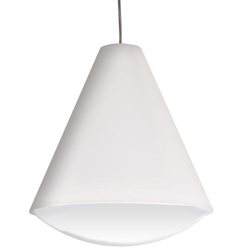 22w LED Pendant, White