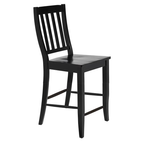 Product Image - School House Counter Height Stools - Antique Black (Set of 2)