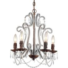 AF Lighting Beloved Five Light Mini Chandelier, 5195-5H