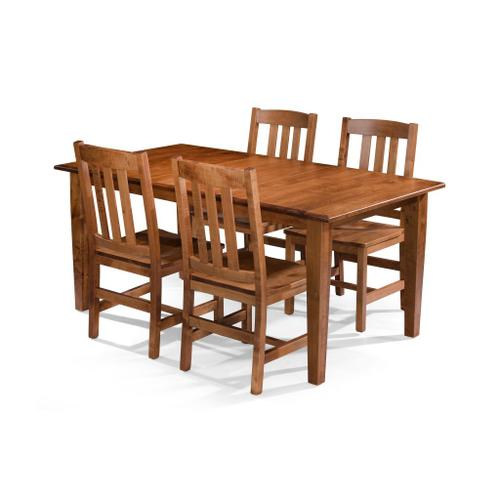 See Details - Rectangular Table/Shaker taper legs and Cooper Chair
