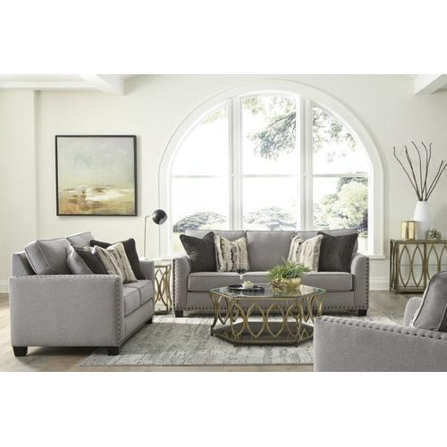 Carmelle Upholstered Sofa, Granite