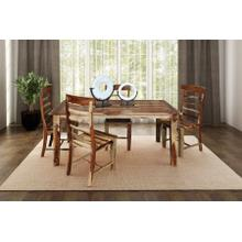 See Details - Tahoe Dining Table With Extensions, Chairs & Bench, SBA-9039N