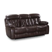 Peoria Manual Motion Sofa, Toffee