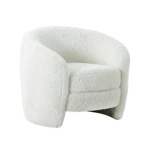 Dakota Faux Shearling Armchair
