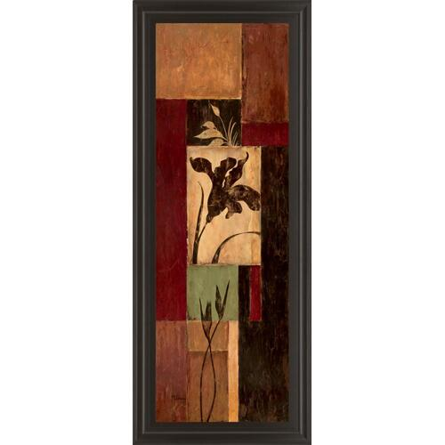 """Iris Shadow"" By Maria Donovan Framed Print Wall Art"